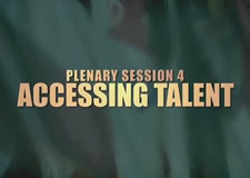 Accessing (Acquiring) Talent Plenary Session – 47th Senior Conference
