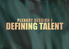 Defining Talent Plenary Session – 47th Senior Conference