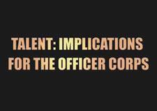 Defining U.S. Army Officer Talent